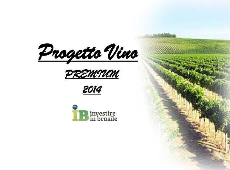 export vino: IB.InvestireinBrasile - Progetto vino Premium