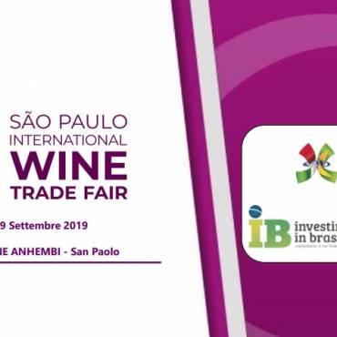 IB – ITALCAM per l'isola Italiana al Wine Trade Fair di São Paulo